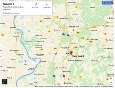 Seeheim-Jugenheim-Karte